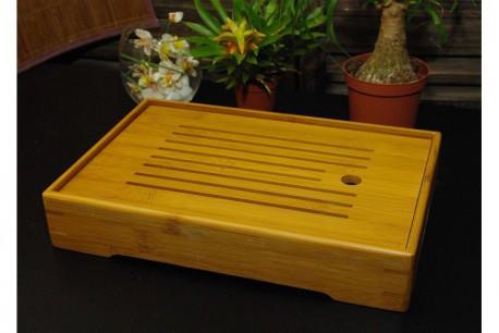 Bateau à thé bambou 210x300