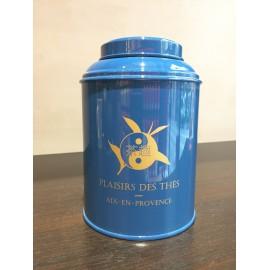 Boite Plaisirs des thés Bleu-vert